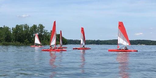 July Caesar Creek State Park Sailing Kayaks