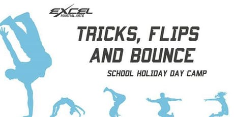 Excel Summer Day Camp - Flips, tricks and bounce tickets