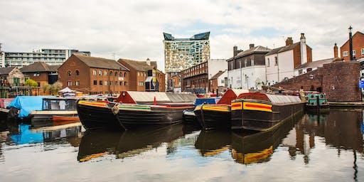 Exploring Birmingham - City Canal Walk