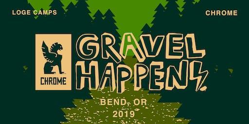 Chrome x LOGE Camps: Gravel Happens No. 1