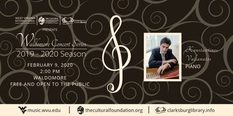 Waldomore Concert Series: Konstantinos Valianatos tickets
