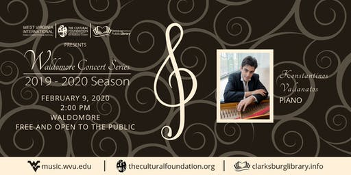 Waldomore Concert Series: Konstantinos Valianatos