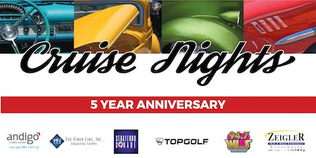 2019 Daily Herald's September Classic Car Cruise Night-Car Registration-STRATFORD SQUARE tickets