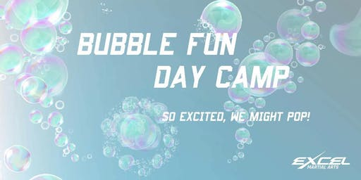 Excel Summer Day Camp - Outdoor Bubbles and water fun