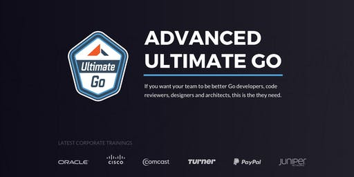3-Day Advanced Ultimate Go Workshop: (Miami - September 2019)