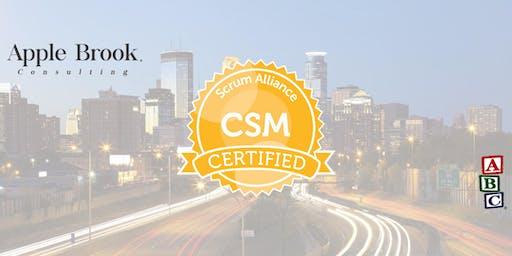 Certified ScrumMaster® (CSM) - Minneapolis - October 3-4