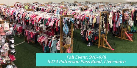 FREE Admission Pass Tri-Valley Children/Maternity Fall 2019 Sales Event (JBF) tickets