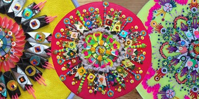 Embellished Mixed Media Mandalas
