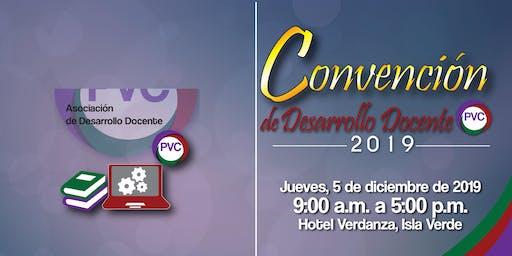 Convención de Desarrollo Docente PVC 2019