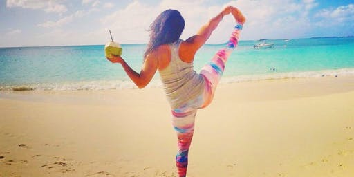 Seaside Yoga and Mimosas