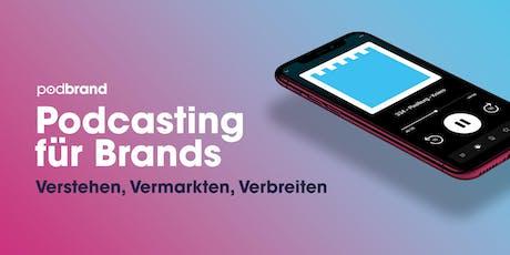 Podcasting für Brands | Workshop Tickets