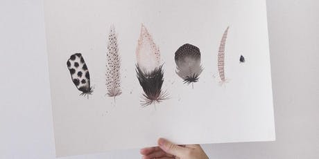 Makers Workshop: Watercolor Feathers tickets