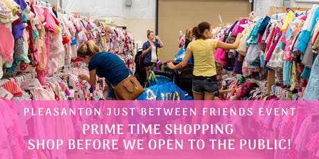 PRIME TIME SHOPPING (9/5 @ 6pm, shop before we open to the public) Tri-Valley Children/Maternity Fall 2019 Sales Event (JBF) tickets