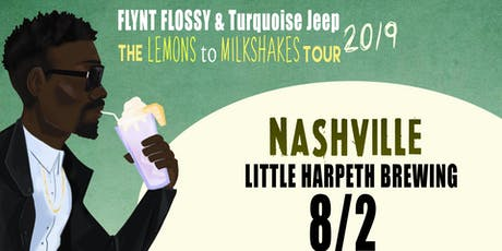 Flynt Flossy & Turquoise Jeep, Scale Model, C4 The Explosive tickets