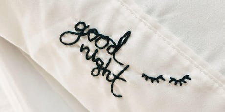 Makers Workshop: Embroidered Pillow Cases tickets