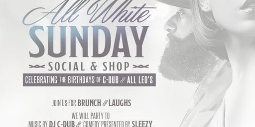All White Sunday Social & Shop