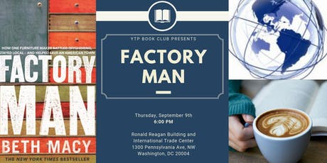 YTP's Book Club: Factory Man by Beth Macy tickets