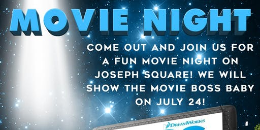Harper's Choice Presents ... 1st Community Movie Night on the Lawn