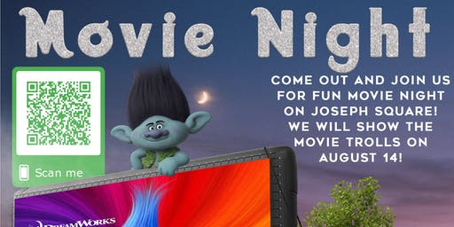 Harper's Choice Presents ... 2nd Community Movie Night on the Lawn