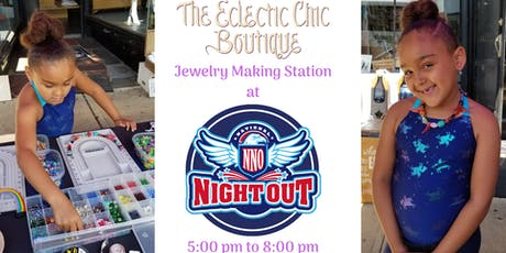 Jewelry Making Station at National Night Out tickets