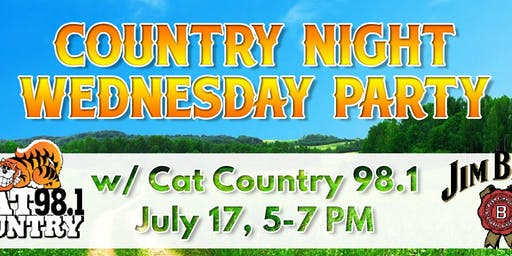 Country Night Party w/ Cat Country 98.1