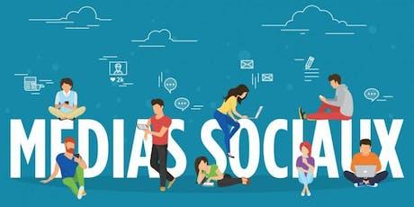 FORMATION MÉDIAS SOCIAUX  | VILLE ST-LAURENT | QC billets