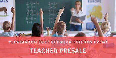 Teacher Presale Pass (shop 9/5 @ 7pm) Tri-Valley Children/Maternity Fall 2019 Sales Event (JBF) tickets