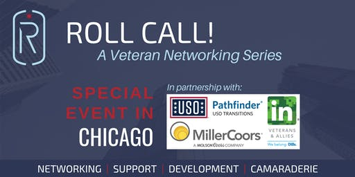 **SPECIAL EVENT ROLL CALL!** In Partnership with the USO Pathfinder Program