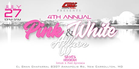 The Pink & White Affair tickets