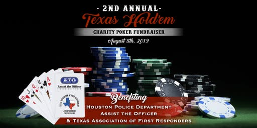 2nd Annual Texas Holdem Charity Event benefiting ATO & TAFR