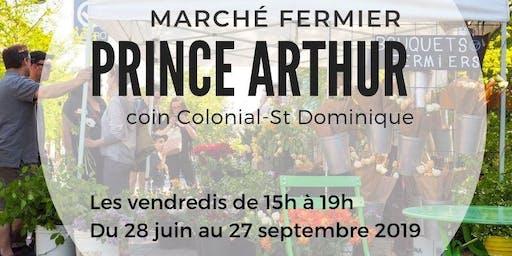 MARCHÉ FERMIER PRINCE ARTHUR