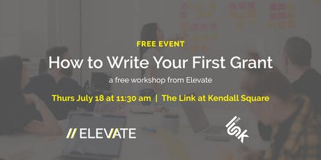 FREE Workshop: How to Write Your First Grant tickets