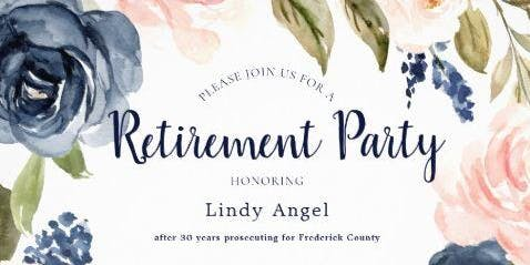 Lindy Angel's Retirement Celebration