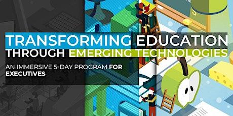 Transforming Education Through Emerging Technologies   January Program tickets