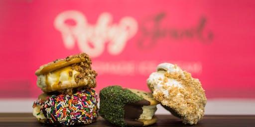Ice Cream Workshop: Sandwich Pops w/  Ruby Jewels  Lisa Herlinger
