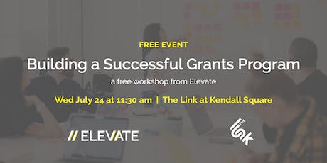 FREE Workshop: Building a Successful Grants Program 101 tickets