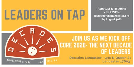Leaders on Tap