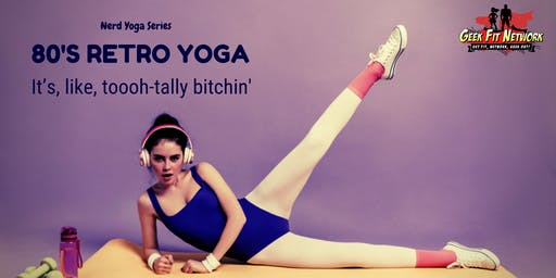 80's Retro Yoga at Alamo Drafthouse
