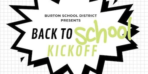 BURTON SCHOOL DISTRICT BACK TO SCHOOL KICKOFF