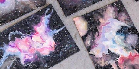Makers Workshop: Watercolor Galaxies tickets