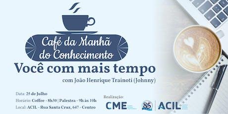 Café da Manhã do Conhecimento tickets