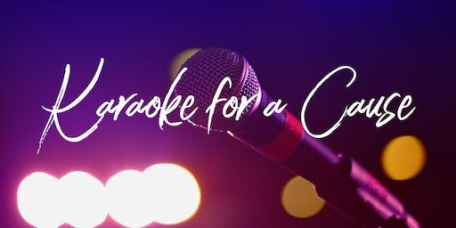 Karaoke for a Cause!