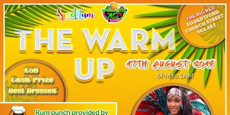The Warm Up: Pre-Carnival Day Party! tickets
