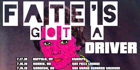 Fate's Got A Driver Live at DSTRCT tickets