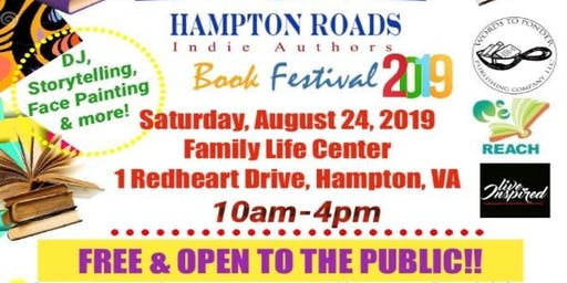 Hampton Roads Indie Author Book Festival Fundraiser
