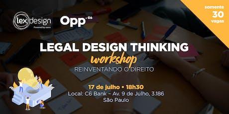 Legal Design Workshop ingressos