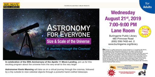 Astronomy for Everyone: Size & Scale of the Universe