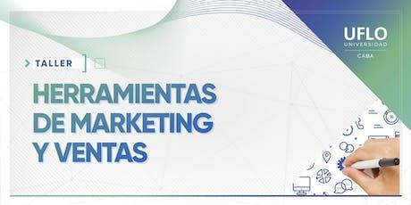 Taller Herramientas de Marketing y ventas para gestionar servicios profesionales entradas