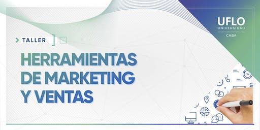 Taller Herramientas de Marketing y ventas para gestionar servicios profesionales