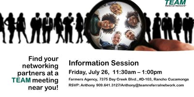 Rancho Cucamonga Information Meeting